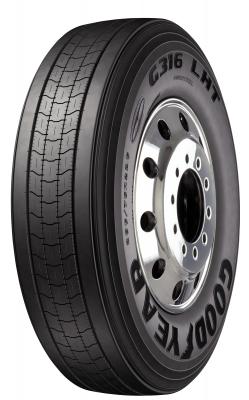 G316 LHT DuraSeal + Fuel Max Tires